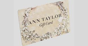 Ann Taylor $1000 Gift Card Giveaway