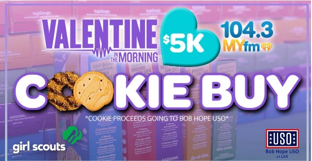 MYfm $5K Girl Scout Cookie Buy 2021 Sweepstakes