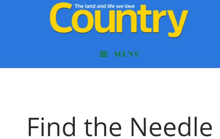 Country Magazine Hidden Object Contest