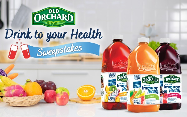 ld Orchard Drink to Your Health Sweepstakes