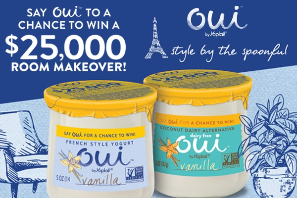 Oui Style by the Spoonful Sweepstakes