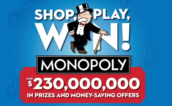 Albertsons Safeway Monopoly Game Sweepstakes