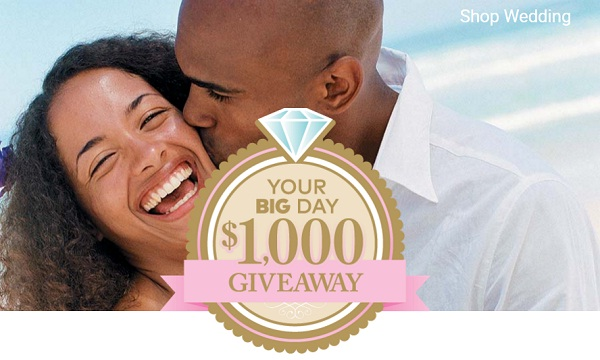 Your Big Day $1000 Giveaway