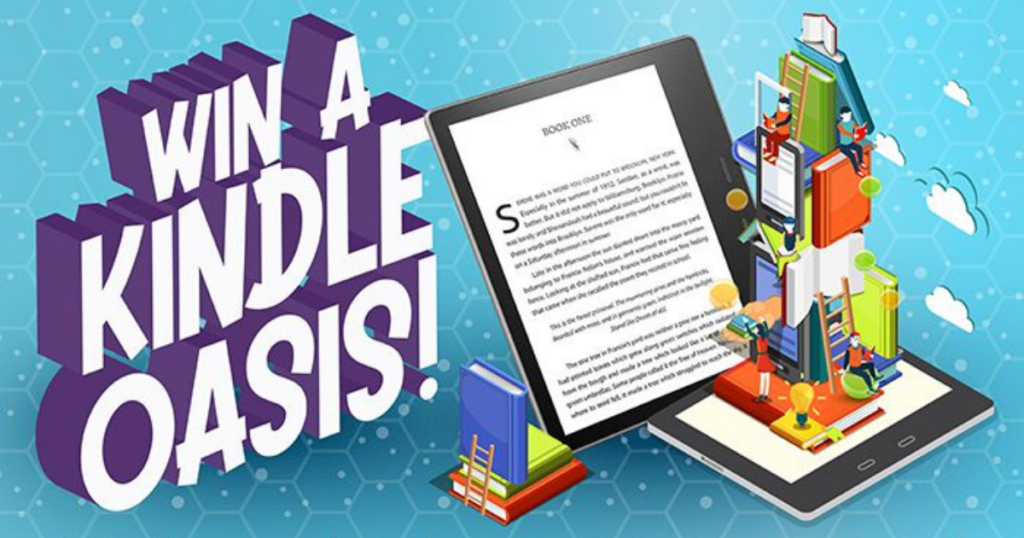 Amazon Kindle Oasis Giveaway