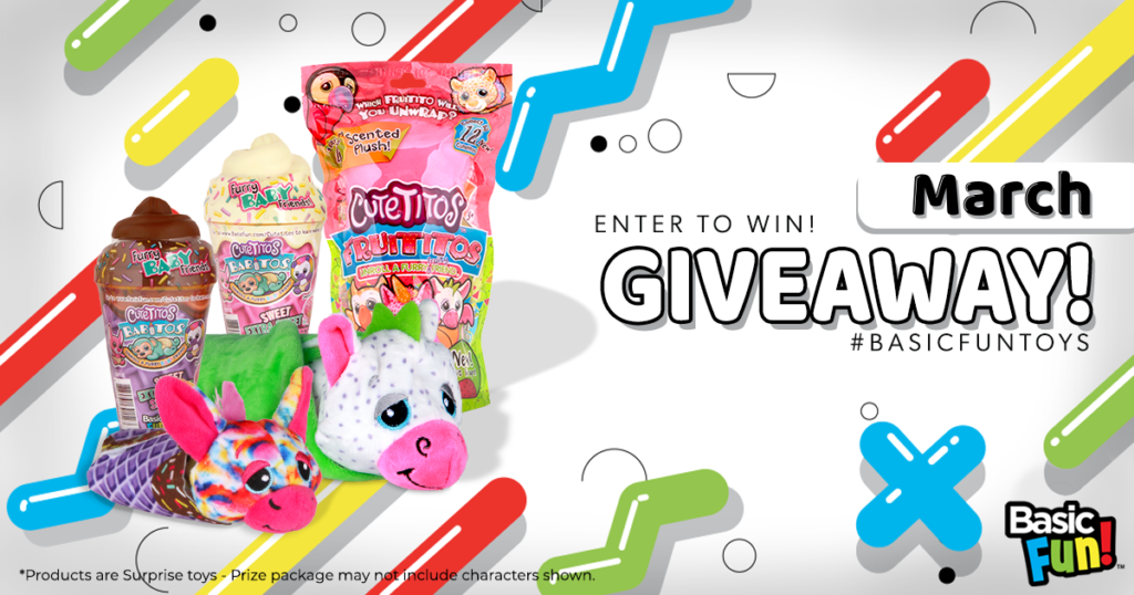 Basic Fun Toys March Giveaway
