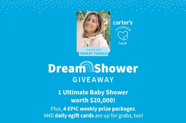 Carters Dream Shower Sweepstakes