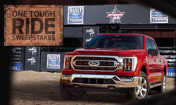 Ford One Tough Ride Sweepstakes