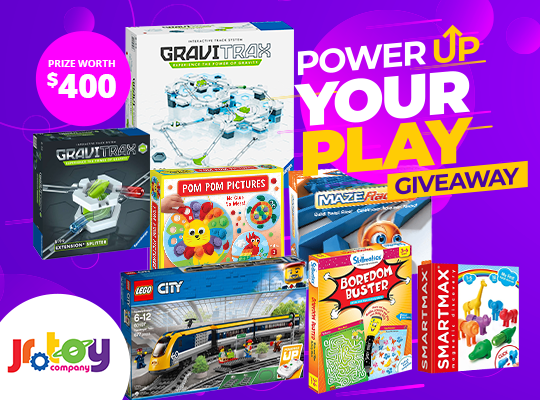 Power Up Your Play Giveaway