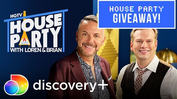 HGTV House of Party T-shirt Giveaway
