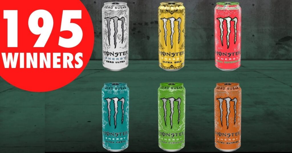 """The Monster Energy """"Ultra Chance to Win Product"""" Sweepstakes"""