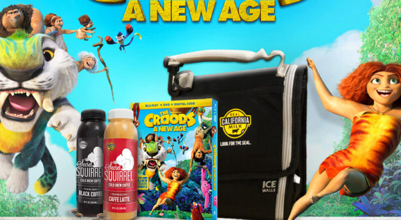 Squirrel Brew & The Croods Giveaway