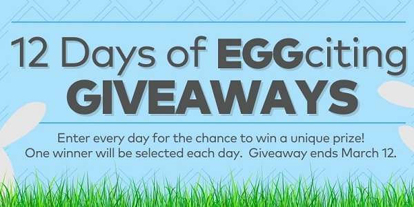 Oriental Trading's 12-days of Easter Giveaways