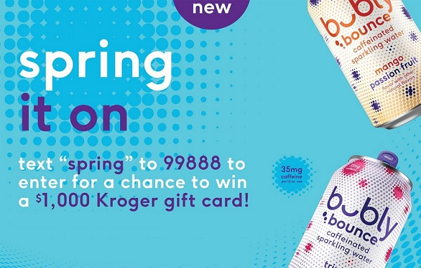 Bubly Bounce Spring It on Sweepstakes