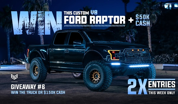 Ronin Factory Ford Truck Giveaway