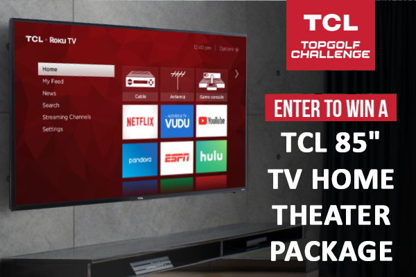 Topgolf Challenge Tcl Sweepstakes
