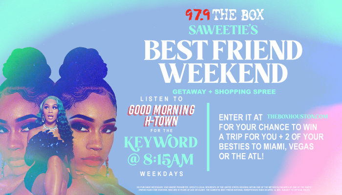 97.9 The Box Saweetie Best Friend National Sweepstakes