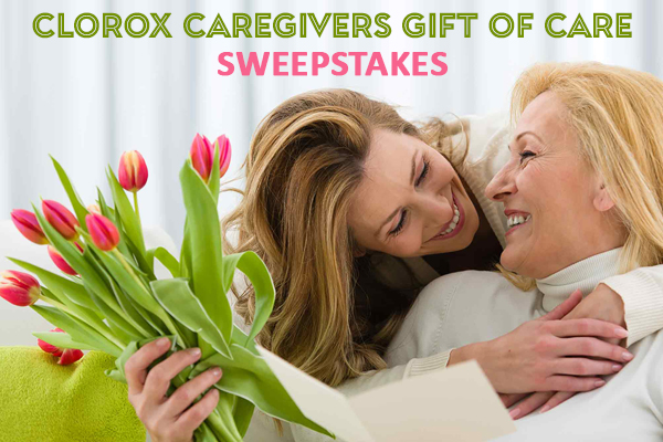 Clorox Caregivers Gift of Care Sweepstakes
