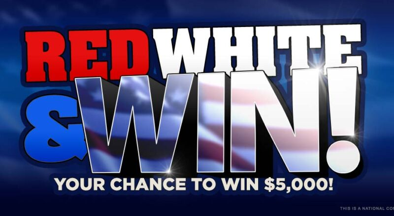 Cumulus Radio Red White and Win Giveaway