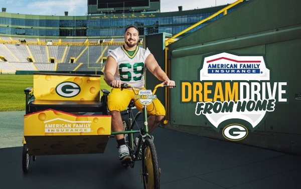 American Family Insurance Packers DreamDrive Giveaway