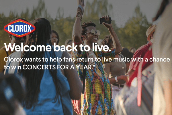 The Get Back Out There with Clorox Sweepstakes
